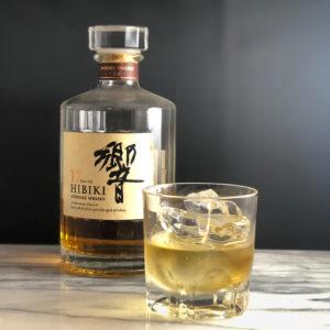 bar7557で人気の響17年のお酒の写真です。